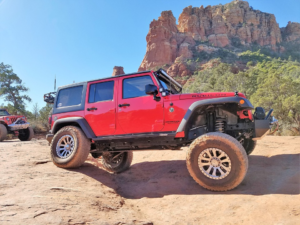 Jeep Rock Crawl